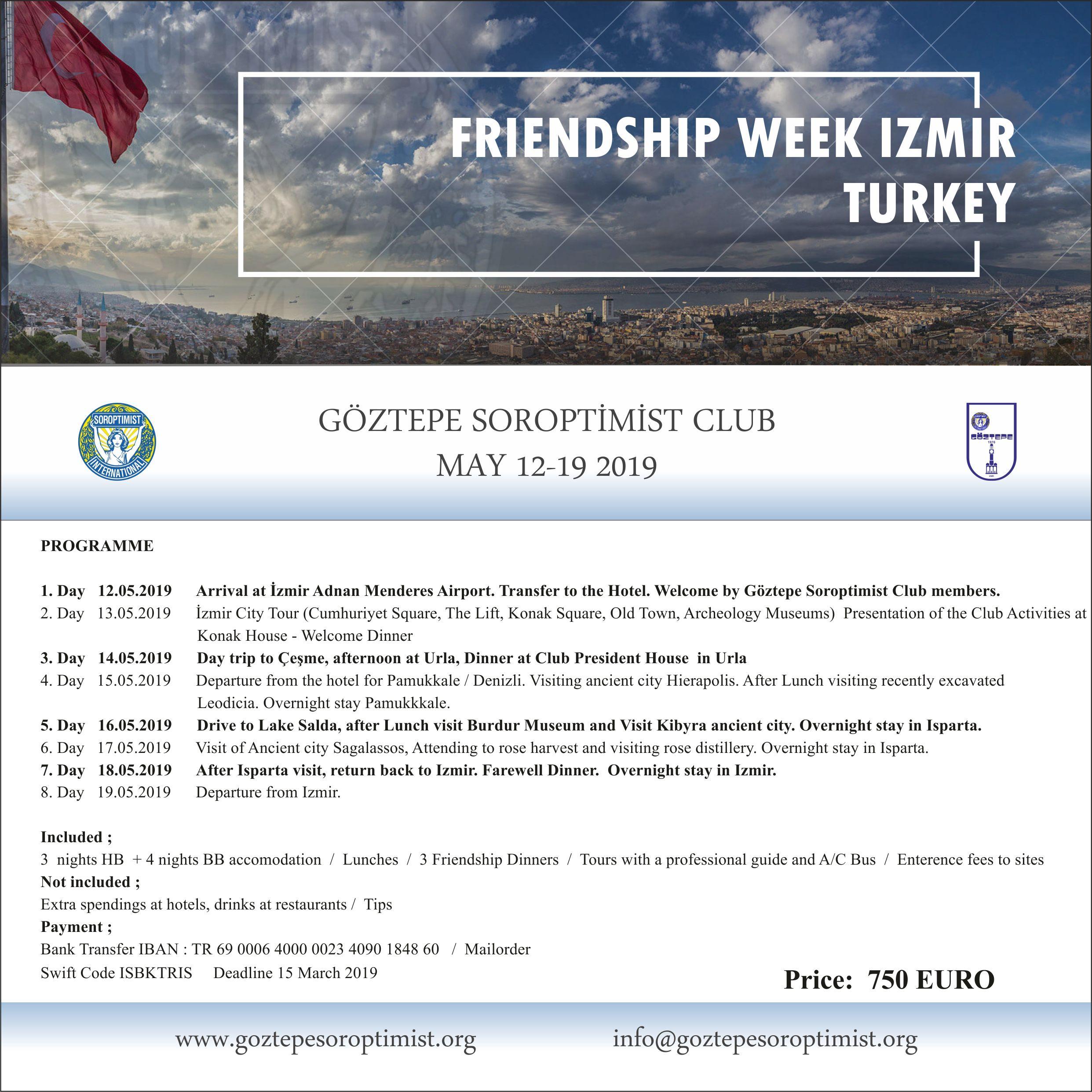 FRIENDSHIP WEEK 3